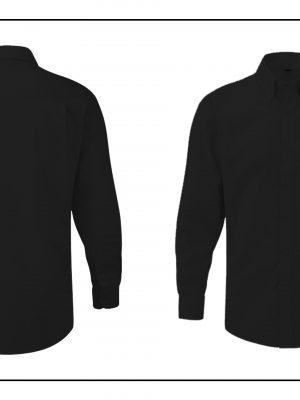 Camisa negre de màniga llarga Motoristes.cat